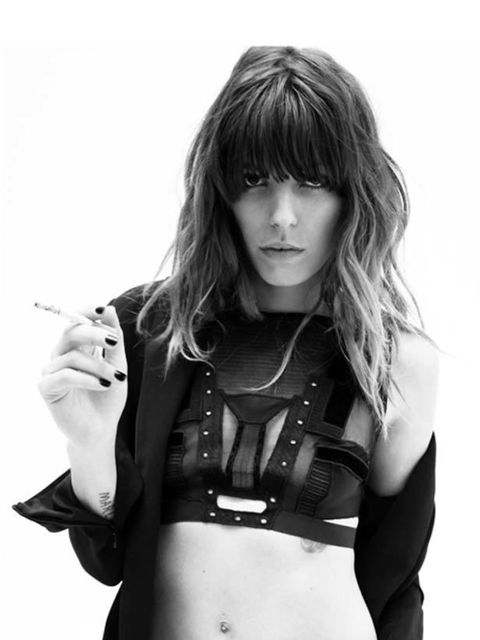 <p><strong>Anthony Vaccarello:</strong> The model for Anthony Vaccerello's A/W 2010 look book is Lou Doillon, which basically tells you everything you need to know about how cool the label is. The Belgian designer behind the label that bares his name won