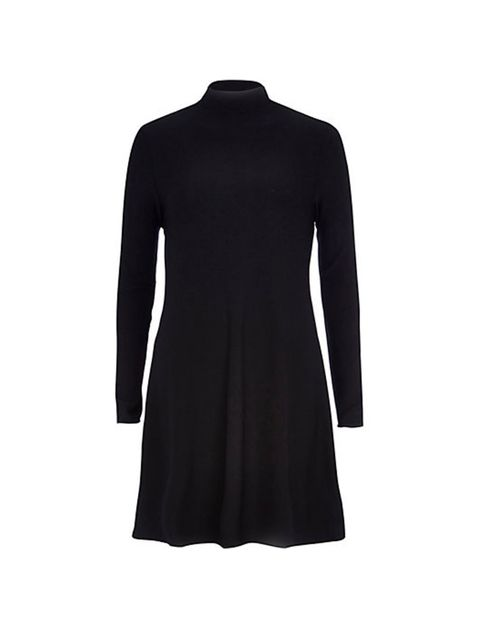 """<p>This polo neck dress is the perfect layering piece. <a href=""""http://riverisland.scene7.com/is/image/RiverIsland/659262_main?$CrossSellProductPage514$"""">River Island,&nbsp;&pound;28</a>.</p>"""