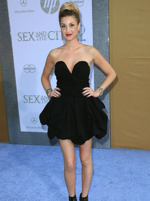 <p>Whitney Port at the New York premiere </p>
