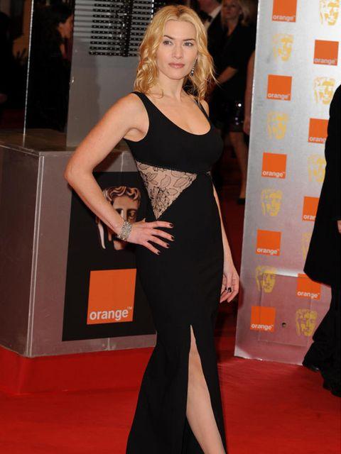 <p>Kate Winslet wearing a Stella McCartney dress </p>