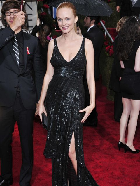 <p>Heather Graham in a dazzling Elie Saab dress</p>