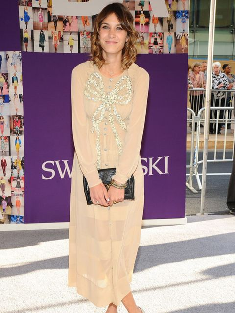 <p>Alexa Chung in Marc Jacobs </p>