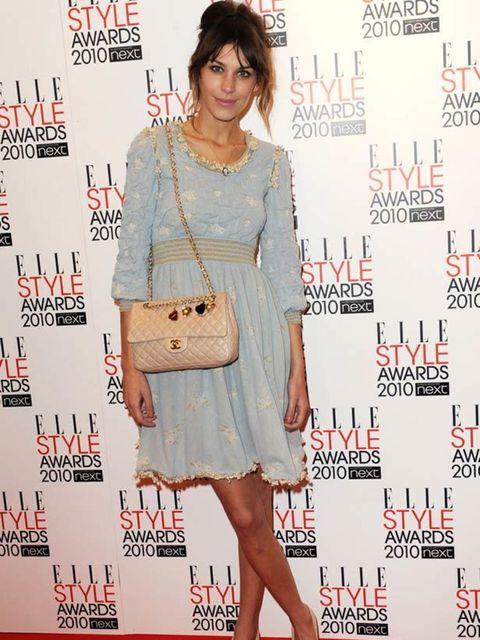 <p>Alexa Chung wearing a beautiful Chanel dress</p>