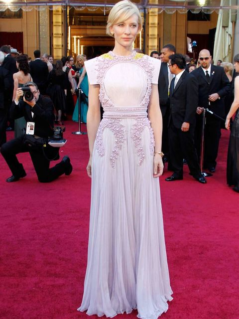 <p>Cate Blanchett wearing Givenchy Couture at the Oscars, February 27, 2011.</p>