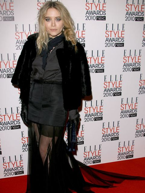 <p>Mary-Kate Olsen wearing a gorgeous Lanvin gown </p>