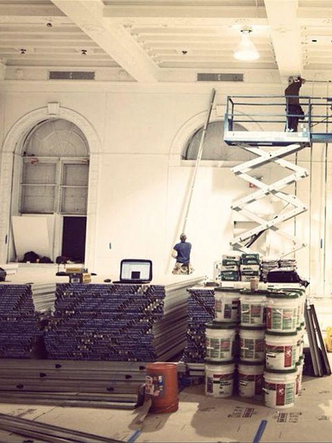 <p>Victoria Beckham (@victoriabeckham)</p><p>'Show space #SS14 #NYFW x vb'</p>