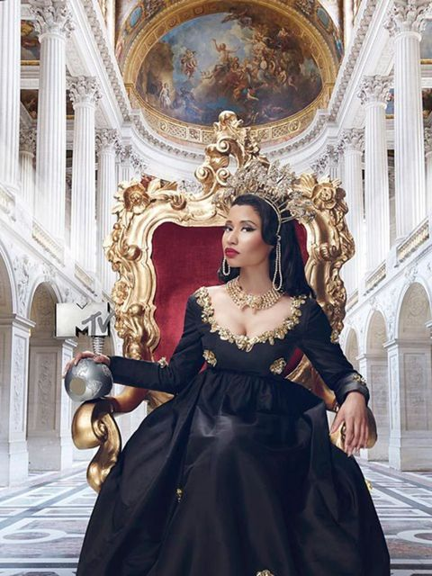 Nicki Minaj (@Nickiminaj)  'So excited to announce that I will not only perform, but I have the honorable task of HOSTING this year's MTV European Music Awards!!!!!!! AAAAAHHHHHHH!!!!!!!!!!! The show will shoot in GLASGOW, SCOTLAND for its 20th Anniversar