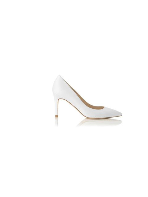 """<p>Team the look with white court shoes. These, from <a href=""""http://www.lkbennett.com/shoes/courts/CCFLORETE100LEATHER"""">LK Bennett</a>, are a great addition to your summer wardrobe. £170</p>"""