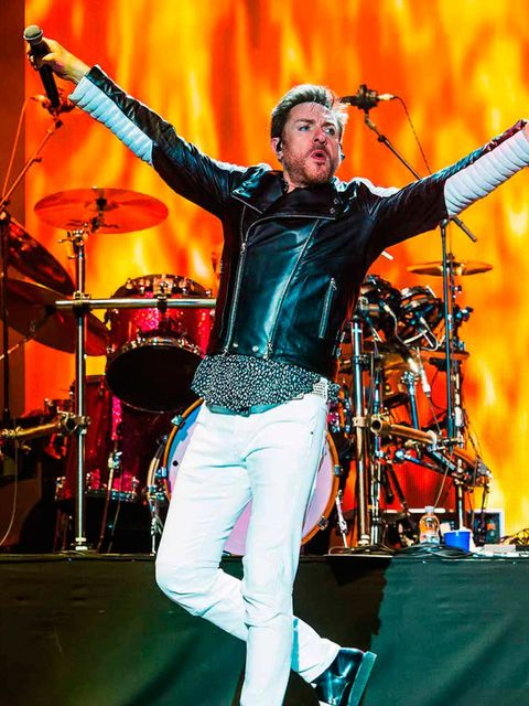 <p>THE TIGHTEST TROUSERS</p>  <p>…did not belong to some Shoreditch trendster or even an indie-band bassist. Nope, the Bodyform award for tightest white trews of the weekend goes to the one and only Simon Le Bon, headlining Friday night with Duran Duran.