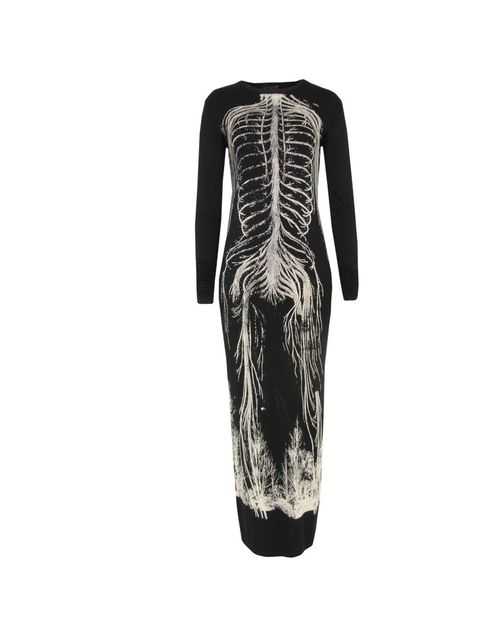 "<p>Draw in Light skeleton dress, £280, at <a href=""http://www.coggles.com/item/Draw-In-Light/Bones-Long-Sleeve-Black-Dress/B3KP"">Coggles.com</a></p>"