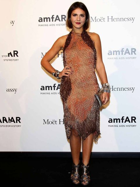 <p>Margherita Missoni attends the amfAR gala during Milan Fashion Week.</p>