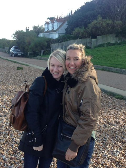 <p>Lorraine Candy, Editor-In-Chief</p>  <p>'Me and Victoria White in Whistable. One of the few sober pics, or where we are not wearing a wetsuit/comedy glasses/swim hat'</p>