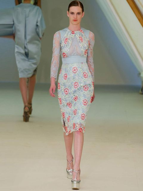 "<p>'<a href=""http://www.elleuk.com/catwalk/designer-a-z/erdem/spring-summer-2013"">Erdem</a> is a wonderful match for Kate's feminine and understated style. This dress would be perfect for a summer garden party at Buckingham Palace.'</p>"