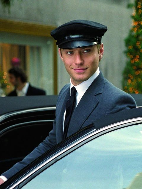 <p>[Sigh] If only we had a chauffeur that looked like that.</p>