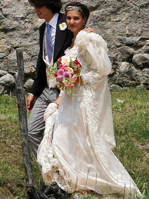 <p>Margherita Missoni at her wedding</p>