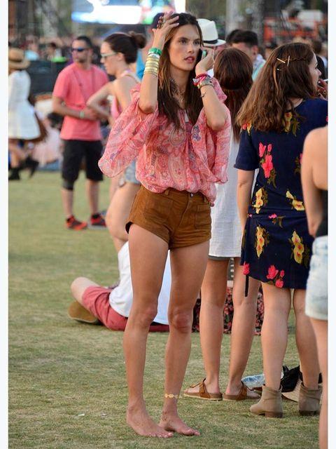 <p>Alessandra Ambrosio at the fest</p>