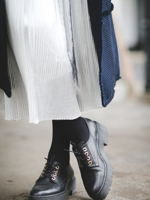 <p>Lorraine Candy<br /> Editor-in-Chief</p>  <p>Erdem coat, Jigsaw skirt and Topshop shoes.</p>