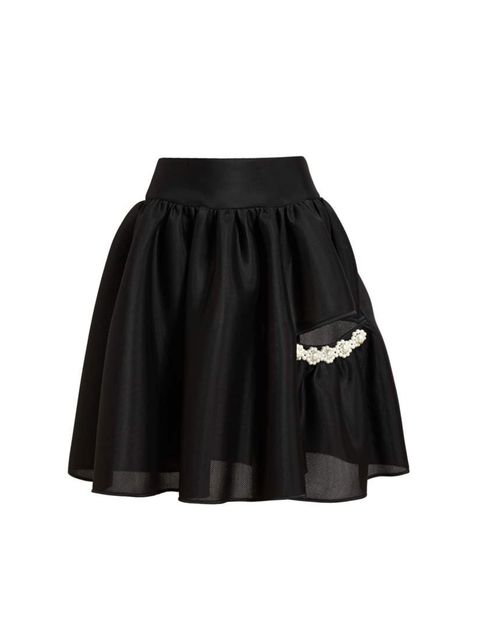 "<p>Fashion Director Anne-Marie Curtis chose...</p><p>Simone Rocha skirt, was £540 now £325 at <a href=""http://www.brownsfashion.com/product/038S20740002/027/coated-mesh-embellished-skirt"">Browns</a></p>"
