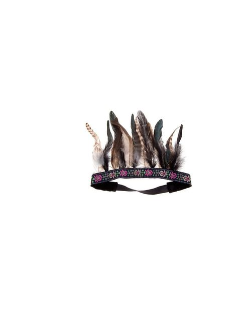 "<p><a href=""http://www.newlook.com/shop/womens/jewellery-and-hair-accessories/embroidered-feather-head-band_247232429"">New Look</a> Embroidered Feather Hair Band, £7.99 </p>"