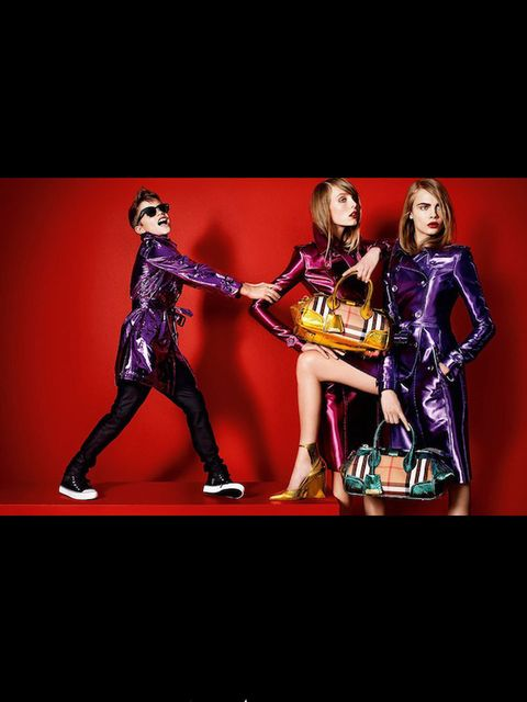 <p>Romeo Beckham in Burberry SS13 campaign</p>
