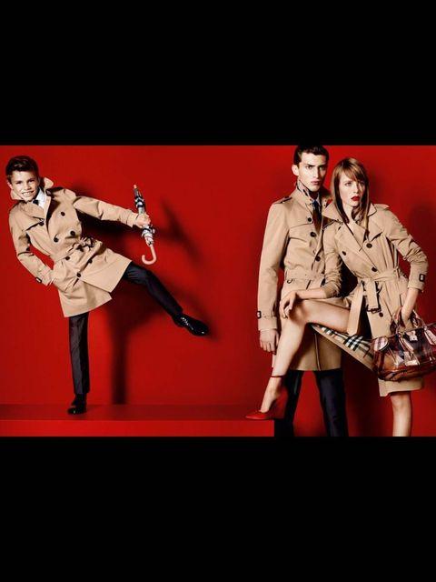 <p>Burberry campaign imagefeaturing Romeo Beckham SS2013</p>