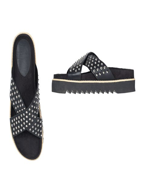 Leather sandals, £25, Asos