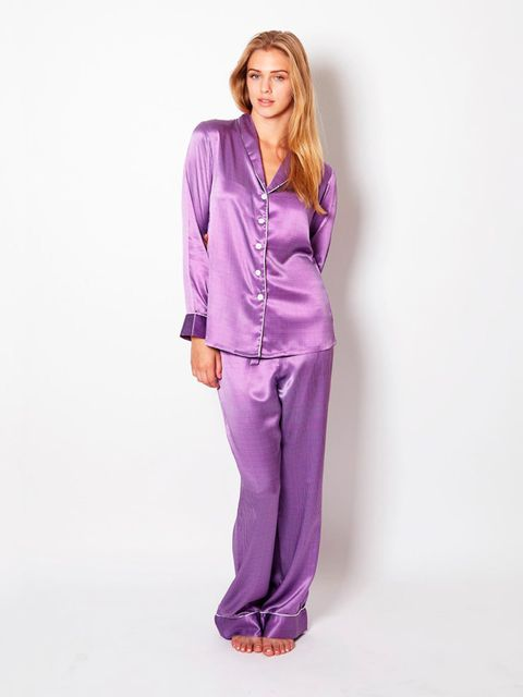 <p>Olivia von Halle silk pyjamas</p>