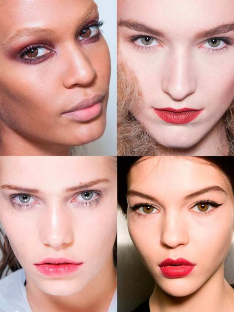 <p>Punky eyes, pretty pouts and brushed-up brows all had us swooning backstage at Milan Fashion Week. With some lasting trends emerging (we're looking at you punk) and some one-off stunning looks there's plenty of covetable inspiration to whet your beauty