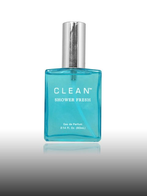 """<p>Eau de Parfum in Shower Fresh, £55 by Clean at <a href=""""http://www.hqhair.com/code/products.asp?PageID=356&SectionID=361&FeaturedProduct=9818&pID=1"""">HQHair</a> </p><p>J'Adore may be Charlize's signature scent, but when she wants a simple, f"""