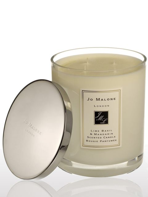 <p> </p><p>OK, so they're a little big for her beauty bag but running a bath and lighting lots of these gorgeous, scented candles is Scarlett's favourite way to relax and recharge before a red carpet event.</p><p> </p><p> </p><p>Luxury Candles, £255, by J