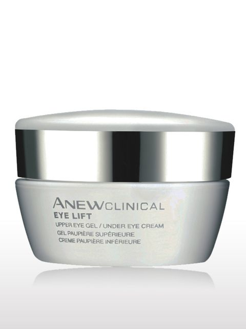"<p> </p><p>Anew Clinical Eye Lift, £20, by <a href=""http://avonshop.co.uk/product/skincare/eye-creams/anew-clinical-crows-feet-corrector.html"">Avon</a></p><p> </p><p>'I'm quite taken with this eye product – it makes so much sense to package a cream for th"