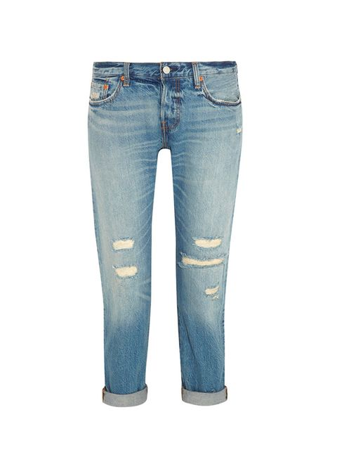 """<p><a href=""""http://www.net-a-porter.com/sa/en/product/551536"""" target=""""_blank"""">Levi's</a> jeans, £96.25 available at <a href=""""http://www.net-a-porter.com/sa/en/product/551536"""" target=""""_blank"""">net-a-porter.com</a></p>"""