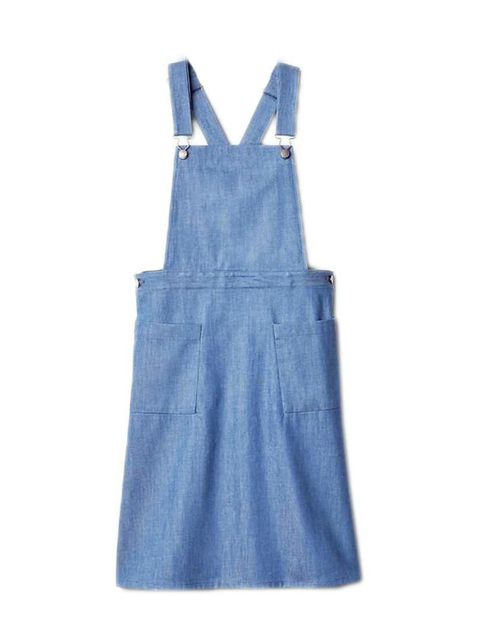 "<p>Editorial Assistant Gillian Brett will layer this denim dress over a fine-knit rollneck.</p>  <p><a href=""http://www.gap.co.uk/browse/product.do?cid=1028671&vid=1&pid=000227292000"" target=""_blank"">Gap</a> dress, £49.95</p>"