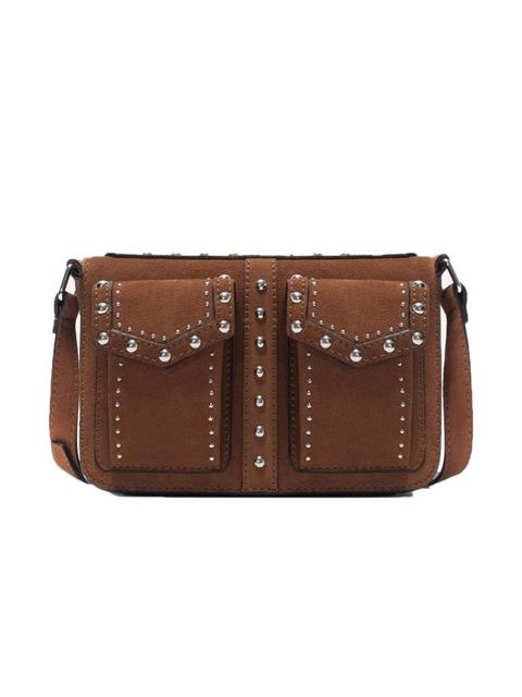 "<p>Sub-Editor Claire Sibbick snagged this vintage-inspired bag.</p>  <p><a href=""http://www.zara.com/uk/en/new-this-week/woman/studded-messenger-bag-c363008p2539596.html"" target=""_blank"">Zara</a> bag, £69.99</p>"