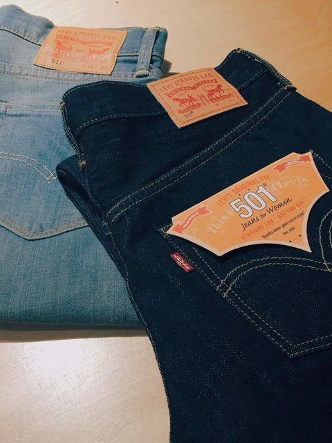 """<p>It all started with a pair (or two) of classic Levi's jeans&#x3B; <a href=""""http://www.levi.co.uk/GB/en_GB/womens-jeans/p/125010208"""" target=""""_blank"""">these selvedge 501s</a> are our new favourites.</p>"""