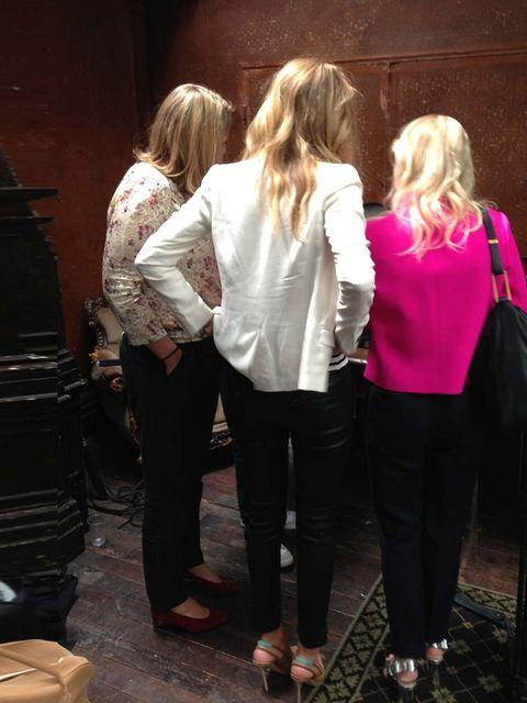 "<p>ELLE's October 2013 power blondes (l-r): PR guru Liz Matthews, cover star Rosie Huntington Whiteley and ELLE Editor in Chief Lorraine Candy.</p><p>Download #RosieELLE to your iPad now</p><p><a href=""https://itunes.apple.com/gb/app/elle-magazine-uk/id46"