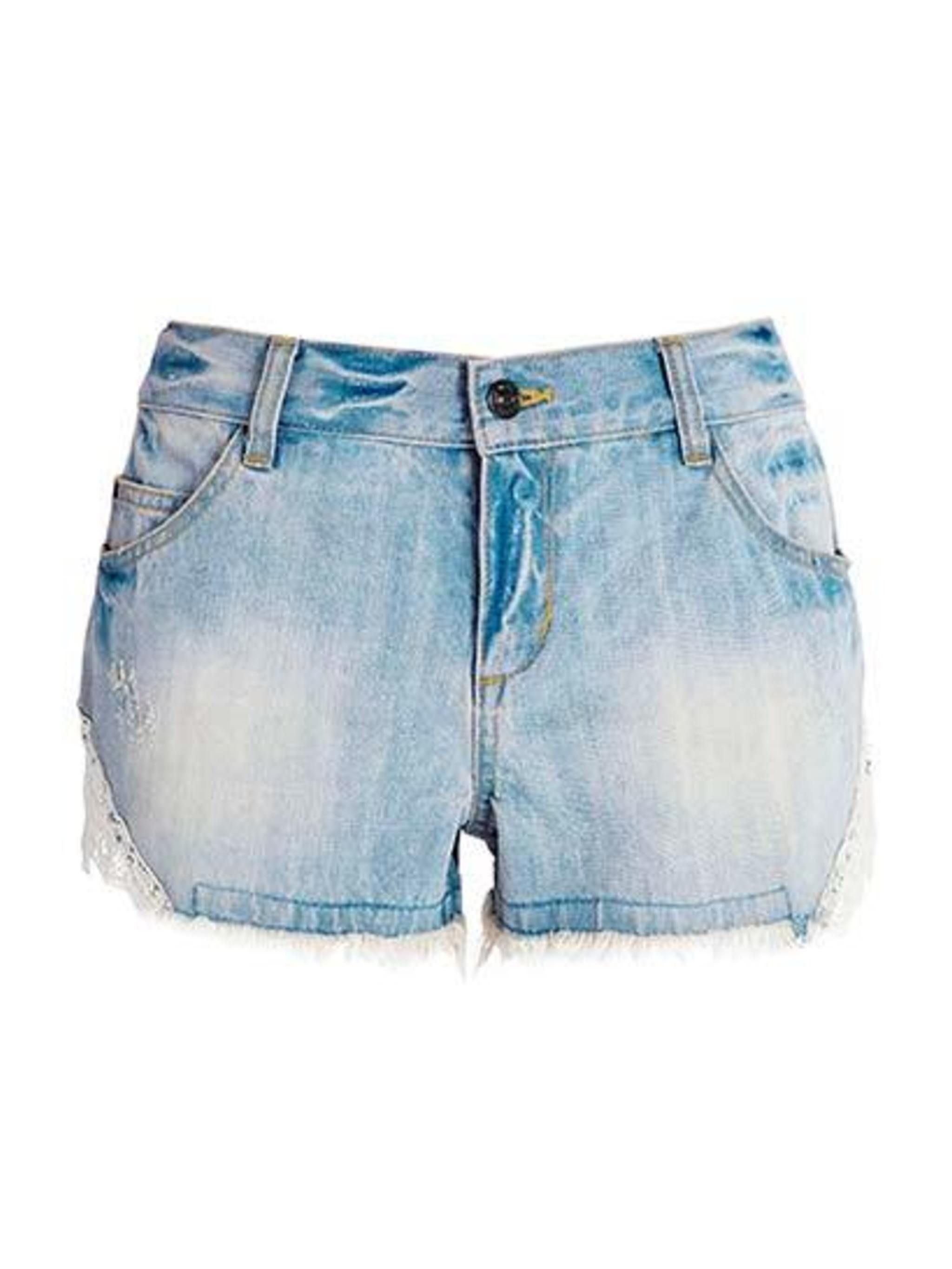"<p><a href=""http://www.next.co.uk/x542208s2#670136x54"">Next</a> denim and lace shorts, £20</p>"