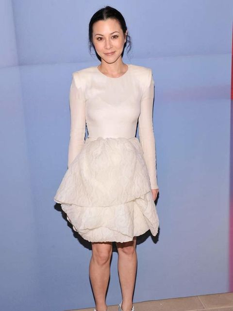 <p>China Chow at Valentino's Virtual Museum launch party.</p>
