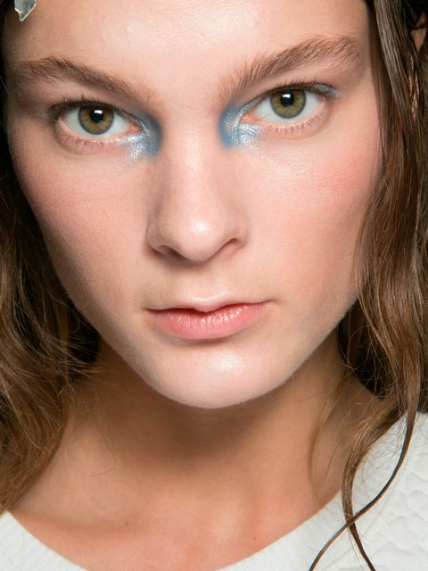 """<p>Just like a silver or light gold, when light blue shadow is placed in the inner corner of the eyes it makes them appear bigger.</p><p>Pat <a href=""""http://www.selfridges.com/en/sisley-phyto-ombre-eclat-eyeshadow_466-85075701-PHOMBRE/?cm_mmc=PLA-_-Goog"""