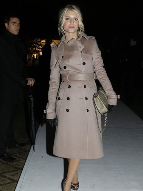 "<p>French actress Melanie Laurent attends<a href=""http://www.elleuk.com/news/star-style-news/burberry-takes-paris/(gid)/832074""> the opening of Burberry's new Paris flagship </a>store.</p>"