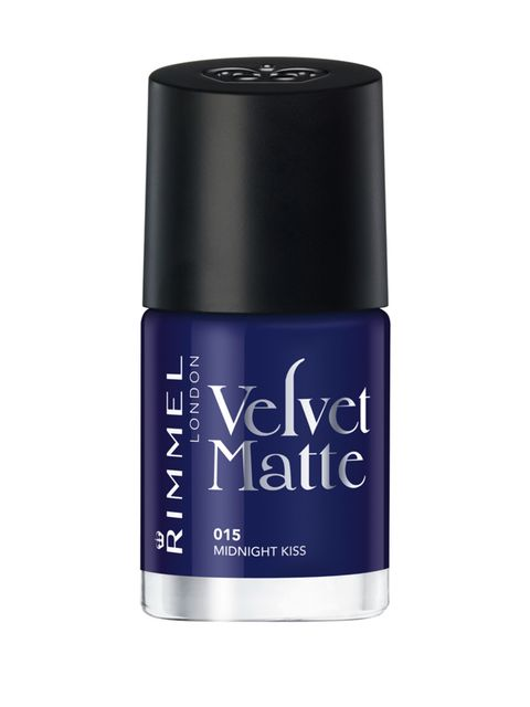 """<p><a href=""""http://www.boots.com/en/Rimmel-Velvet-Matte-Nail-Polish_1530716/"""">Rimmel Velvet in 015 Matte Midnight Kiss, £4.49</a></p>"""