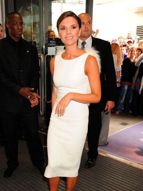 <p>There it is! Victoria Beckham famously never shows her teeth but....</p>