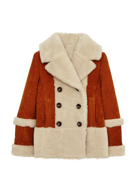 "<p>Shearling coats are big news this season, snap one up early.</p>  <p><a href=""http://www.asos.com/ASOS/ASOS-Suede-Shearling-Coat-in-70s-Styling/Prod/pgeproduct.aspx?iid=5263687&cid=2623&sh=0&pge=0&pgesize=36&sort=-1&clr=Tan&totalstyles=386&gridsize=3"""