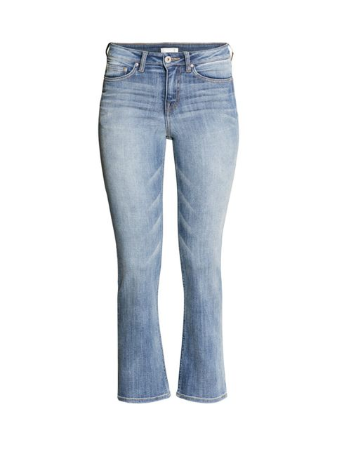 "<p>Cropped flares are the surprisingly flattering denim trend to invest in now.</p>  <p><a href=""http://www.hm.com/gb/product/19220?article=19220-B#article=19220-B"" target=""_blank"">H&M</a> jeans, £29.99</p>"