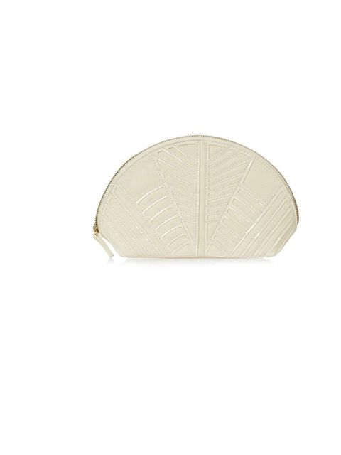 "<p>Art Deco Make-up Bag, £15 by <a href=""http://www.topshop.com/webapp/wcs/stores/servlet/ProductDisplay?beginIndex=1&viewAllFlag=&catalogId=33057&storeId=12556&productId=8447993&langId=-1&sort_field=Relevance&categoryId=218518"