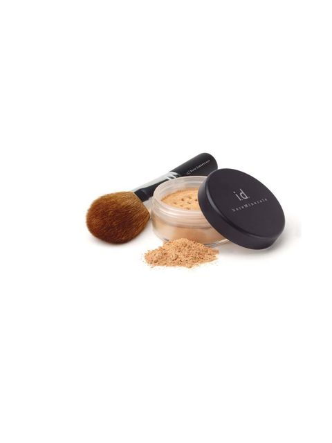 "<p><a href=""http://www.bareminerals.co.uk/bareMinerals-SPF-15-Foundation/UKMasterSPF15Found,default,pd.html?cgid=BM_SUB_FOUNDATION""></a></p><p>Denise Leicester swears by using 'zinc based make-up with micronized minerals, which have soothing qualities for"