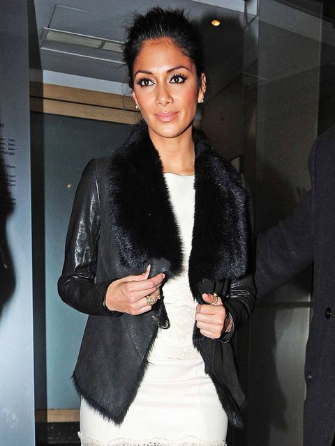 "<p>Nicole Scherzinger spotted wearing her <a href=""Nicole%20Scherzinger"">AllSaints</a> '<em>Mures'</em> jacket after dinner at Nobu.</p><p><em><a href=""Nicole%20Scherzinger"">Read all about Nicole's shopping spree at AllSaints..</a>.</em></p>"