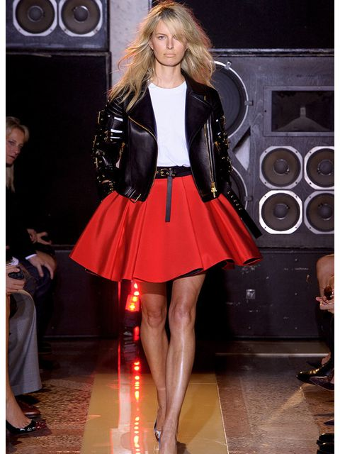 <p>Why we love him? For every thigh-high harlequin mini crinoline, there is a graphic colour-blocked T-shirt that will inject our wardrobe with just the right shot of energy.</p>