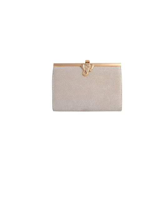 "<p><a href=""http://www.wilburandgussie.com/"">Wilbur & Gussie</a> tusk clutch in coco cream, £245</p>"
