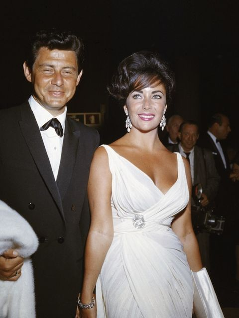 <p>Taylor and her fourth husband Eddie Fisher in 1962</p>